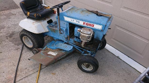 WANTED: (Garden tractor &Rotor tiller)