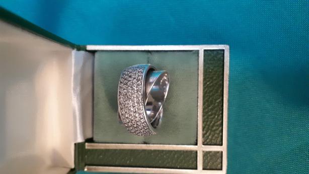 Beautiful Ladies 9.25 Sterling Silver Rings