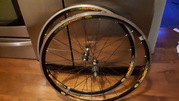 Mavic Cosmic tubular 700c wheelset