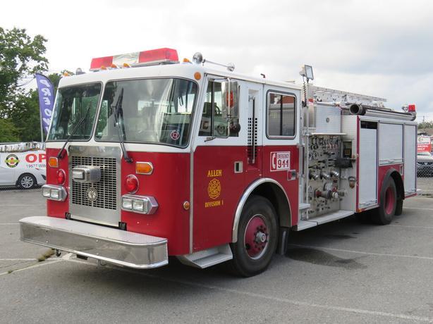 1991 International Simon Duplex Fire Truck