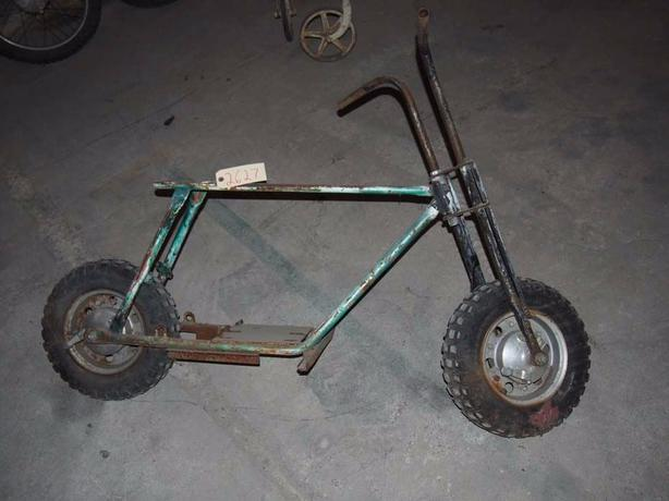 WANTED MINI BIKE FRAME