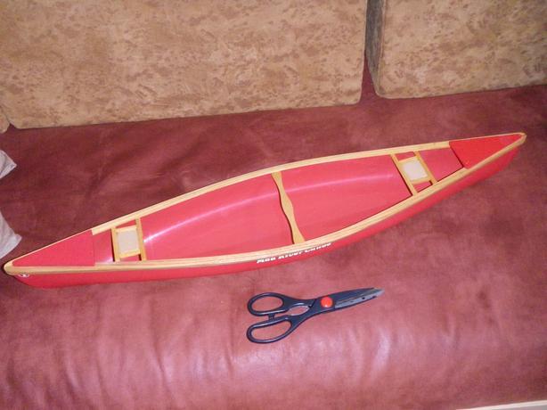 Miniature Mad River Canoe Model