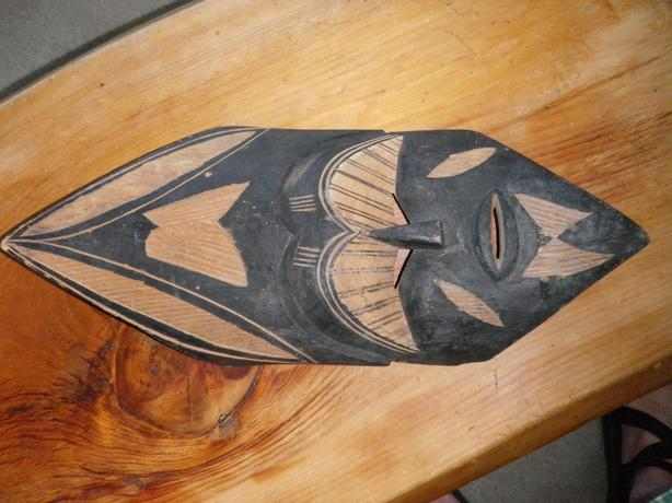 African Face Mask Woodcarving