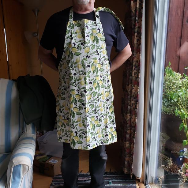 French bib apron