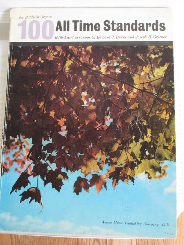 Vintage and Mid Century Music Books for the Organ