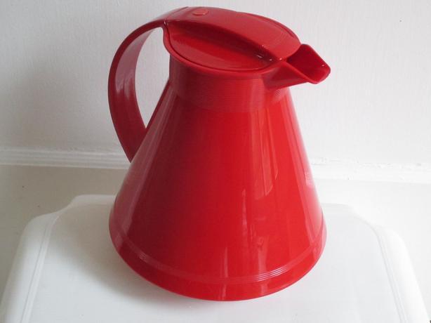 Red Beverage Carafe