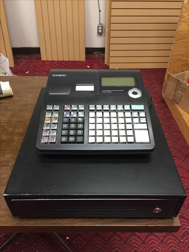Electronic Cash Register & Receipt Thermal Roll