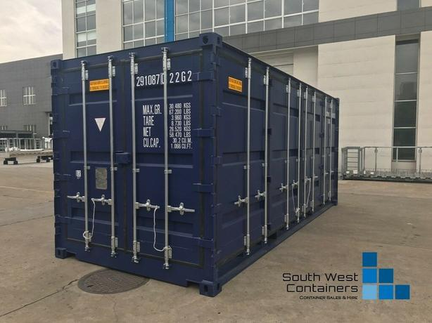 """***New*** 20ft Double Side Opening Shipping Containers, """"One Way Use"""""""