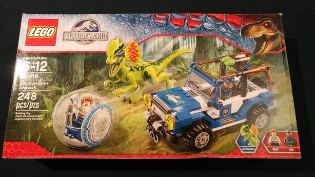 Lego Jurassic Park 75916