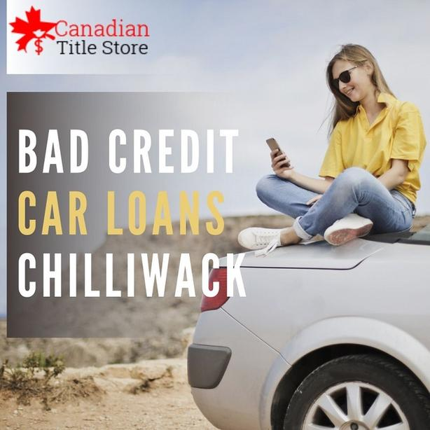 Bad Credit Car Loans Chilliwack to get finance against your car