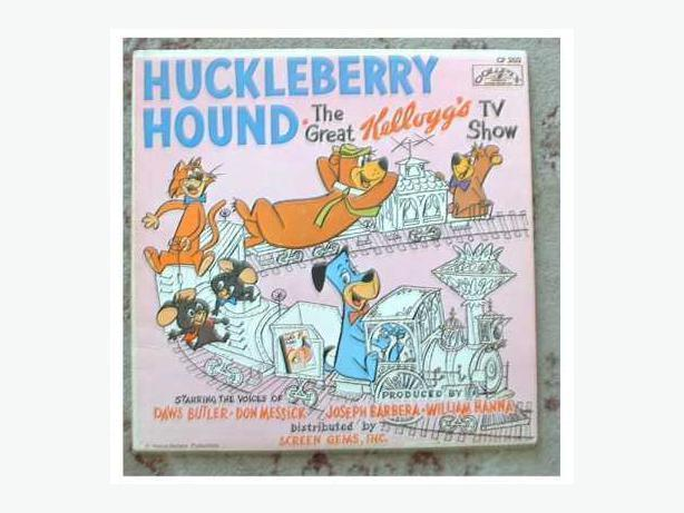 Huckleberry Hound LP Kellogg's Yogi Bear Mr. Jinks