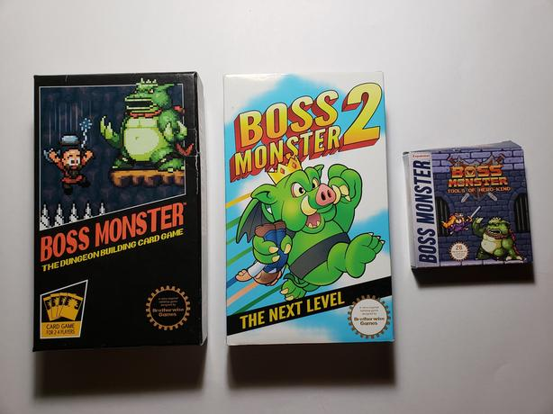 Boss Monster Card Game with Expansions