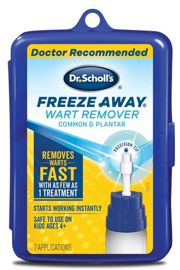 FreezeAway Dr. Scholl's Home Treatment 4 Treatments Left - $10