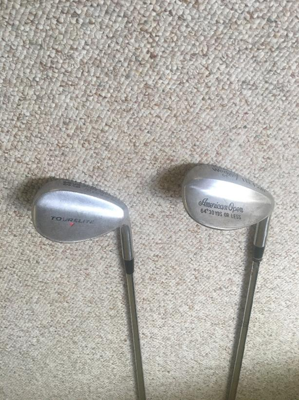 64* and 65*  Loft Wedges Right Hand - 2 For Sale
