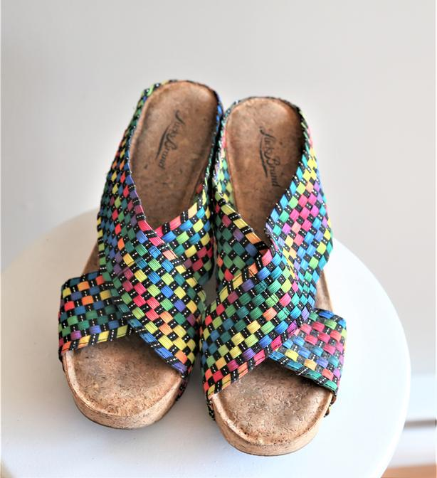 Lucky Brand Women's Wedge Sandal size 9