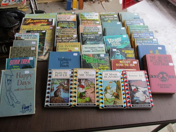 CHILDRENS BOOKS FROM ESTATE
