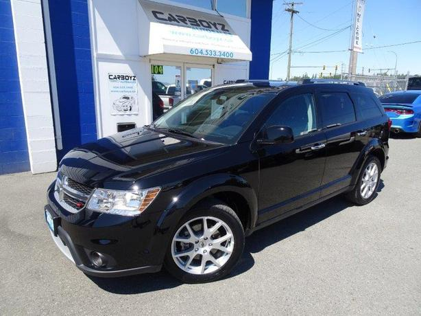 2018 Dodge Journey GT Ultimate AWD, Nav, DVD, Sunroof, Leather!!