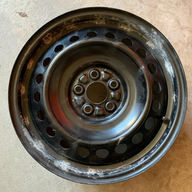 "Good Condition 16"" OEM Toyota Steel Rim"