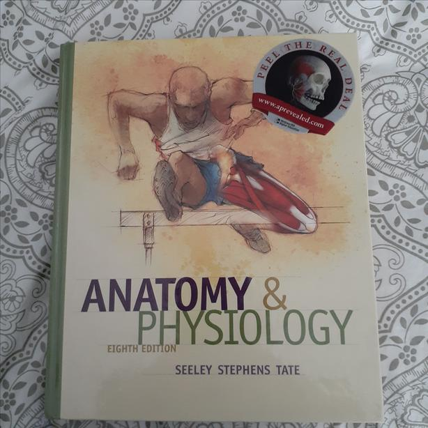 SOLD pending pu  Anatomy & Physiology by Seeley Stephens Tate, Eighth Edition