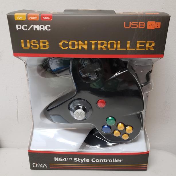USB N64 Controllers
