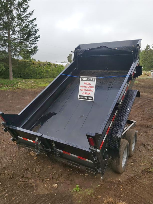 Dump Trailer for Hauling and Junk Removal (Peninsula & Victoria)