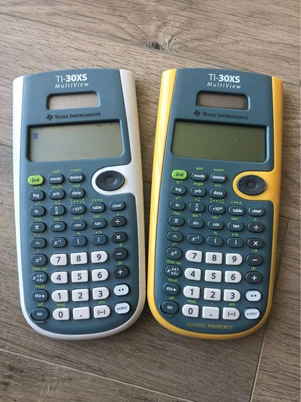 TI-30XS Calculators