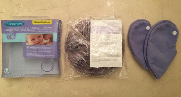 LANSINOH THERA PEARL 3-IN-1 BREAST THERAPY PACK (HOT & COLD USE)