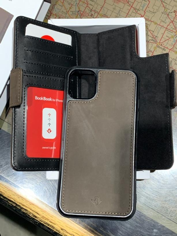 3-in-1 Leather Wallet + Case for iPhone