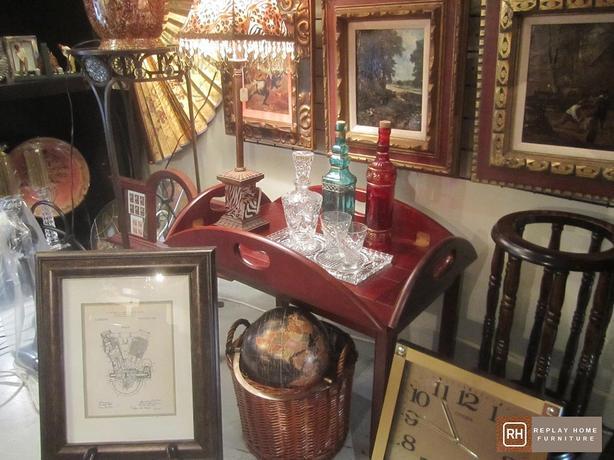 Nautical Brandy Tray Table
