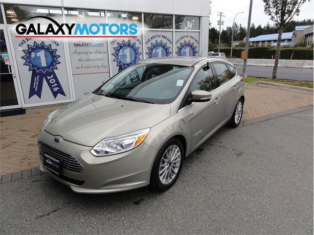 2016 Ford Focus Electric EV Navigation, Bluetooth, Heated Seats