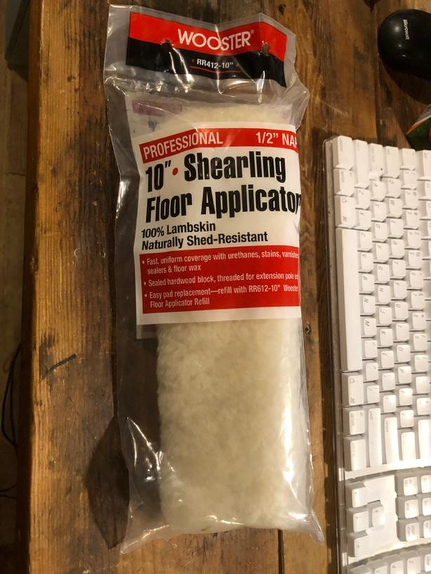 "Wooster 10"" Shearling Applicator and Pad"