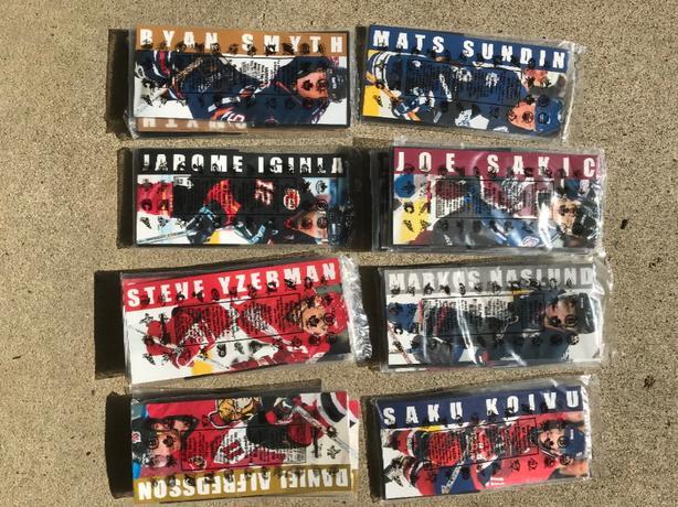 16 McDonald's Hockey Heroes Mini-Jerseys NIP All for $10 OBO