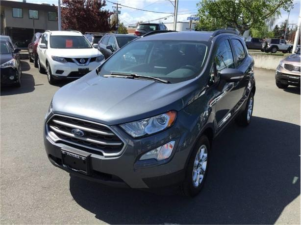 2018 Ford EcoSport SE! SAVE GAS! GREAT FOR VICTORIA LIFESTYLE!