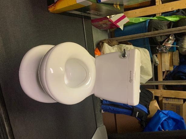never used teaining toilet
