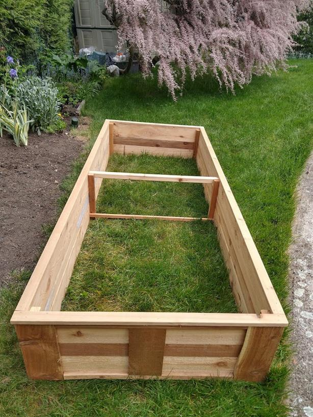 Absolutely New Cedar Garden Box
