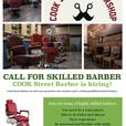Skilled Barber Wanted