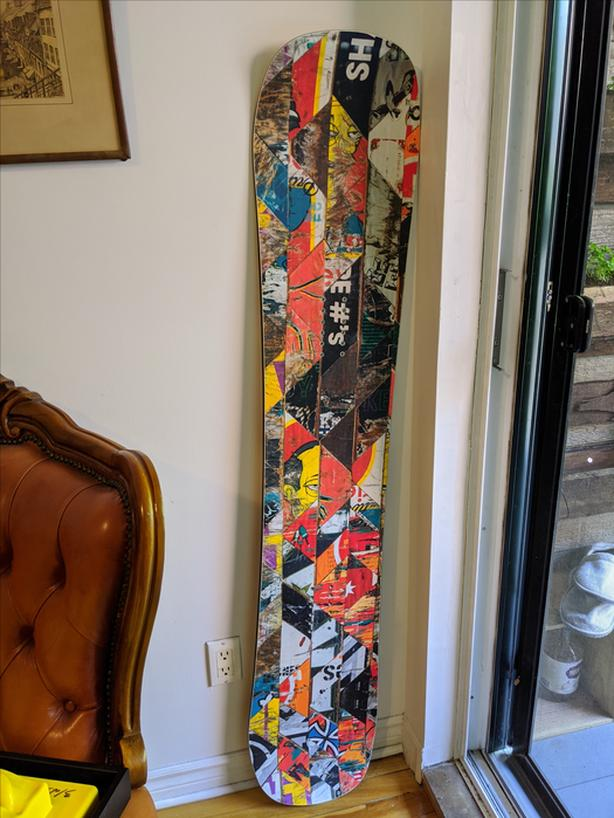 SIGNAL SNOWBOARDS Limited Edition Sk8 Deck Snowboard 154 // NEW