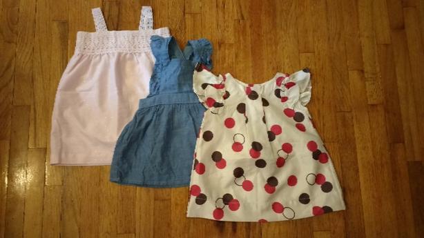 EUC 0-6M Dresses Lot
