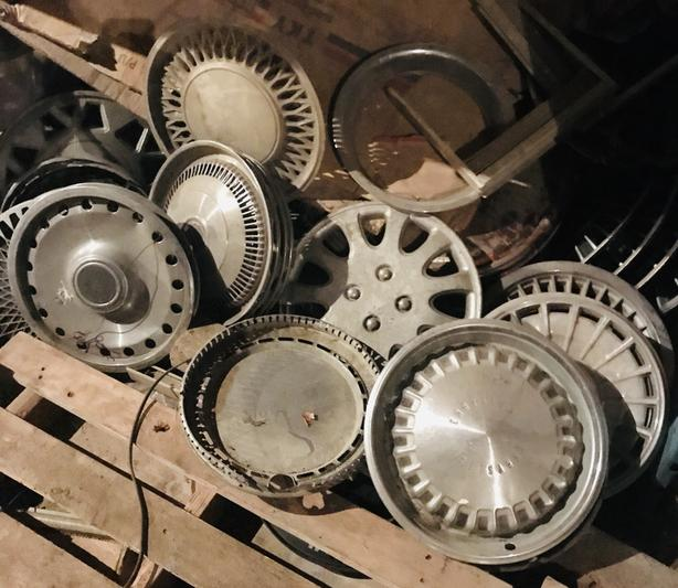 Assorted WHEEL COVERS,