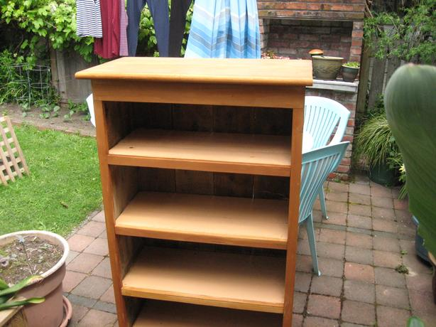 Bookcase (reclaimed wood)