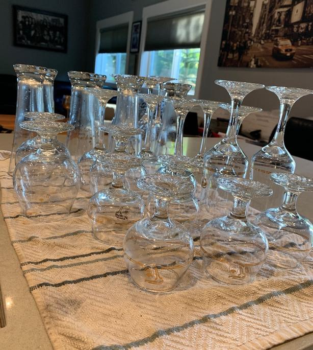 Collectible glasses