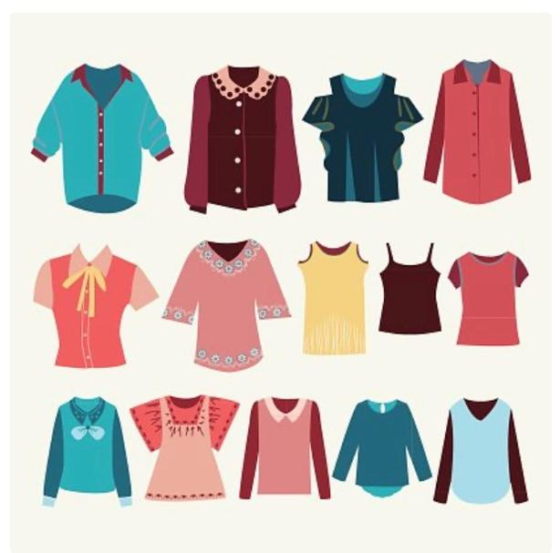 Women's Name Brand Size Medium Clothing LOT For Sale