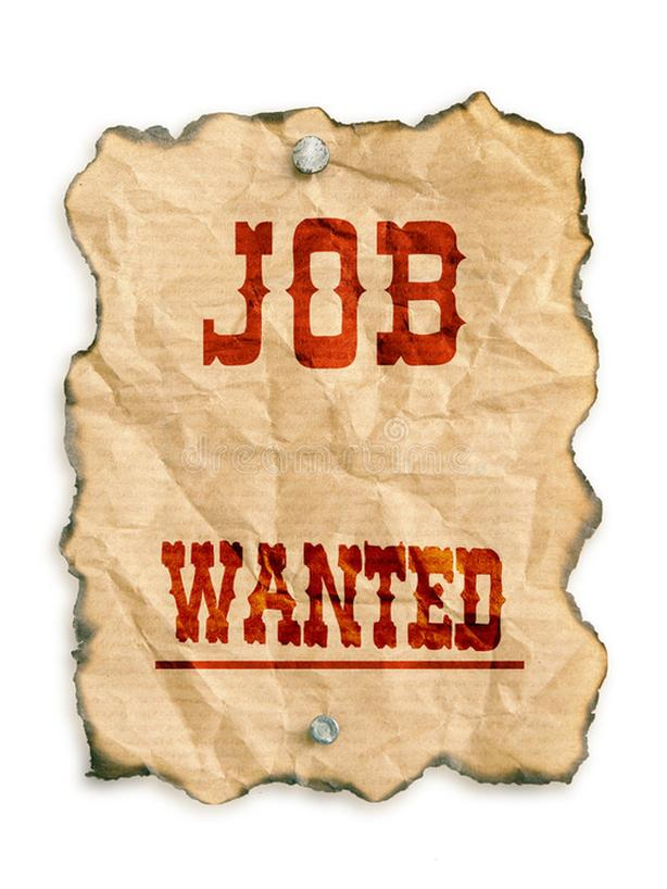 WANTED: A Job. Anything half decent.