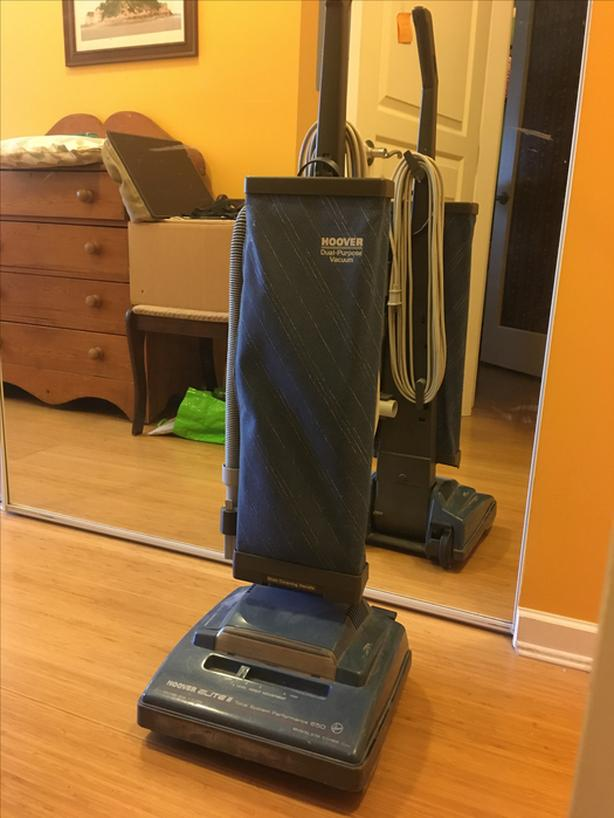 FREE: hoover upright vacuum