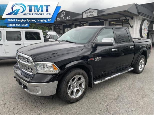 2015 Ram 1500 Laramie Limited  - Leather Seats - $351 B/W