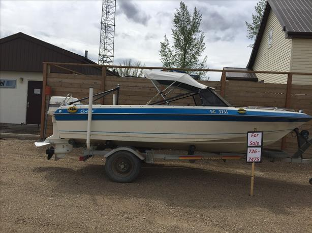 Saturn Boat & trailer