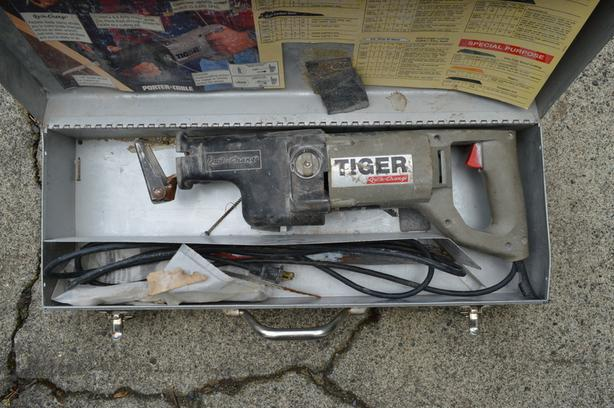 LOWERED PRICE - Porter-Cable reciprocating saw (sawzall) - $55 OBO