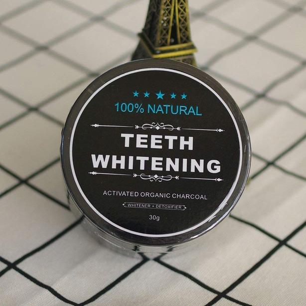 New Natural Teeth Whitening Activated Charcoal Powder - $15