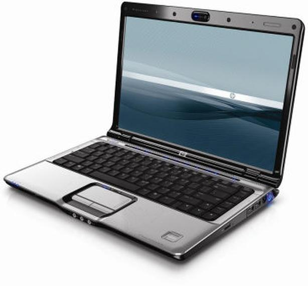 HP multimedia entertainment laptop with widescreen