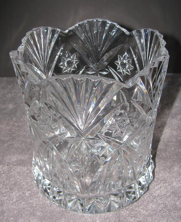 Cristal D'Arques Durand Crystal Champage Chiller Ice Bucket Vincennes Pattern